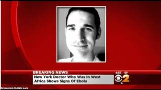 Confirman primer caso de ébola en Nueva York