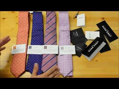 The Dark Knot Necktie Unboxing & Review- The Tie Guy