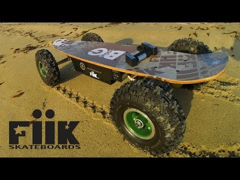 Fiik Electric Skateboards: Unboxing