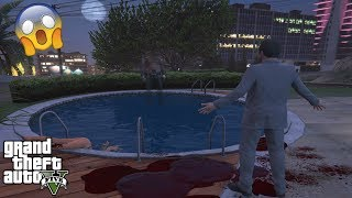GTA 5 - DON'T Jump in This HAUNTED POOL at 3AM!