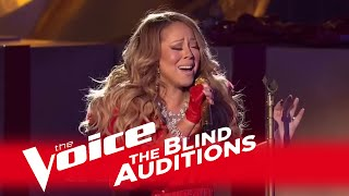 """Download Lagu The Voice 2014 - Mariah Carey Blind Audition: """"All I Want For Christmas Is You"""" Gratis STAFABAND"""