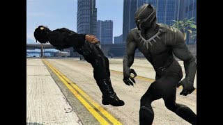 Black Panther vs The Winter Soldier - GTA 5 Mods