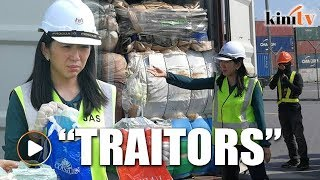 Yeo Bee Yin Sends Strong Message Against 'traitors' Turning Malaysia Into Dumping Ground