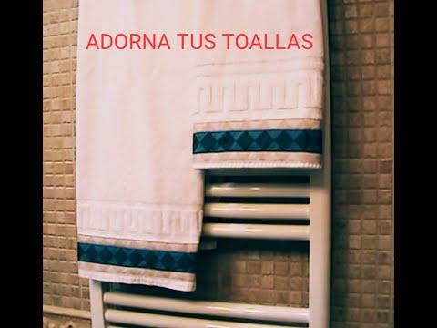 [TUTORIAL] Como adornar una toalla (parte 1)