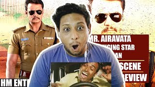 Mr. Airavata Darshan Entry Scene I NorthIndian Reaction Review I Challenging Star Darshan
