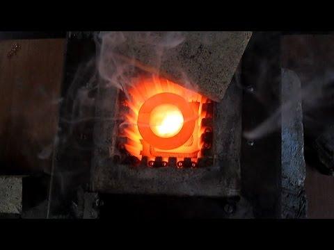 Муфельная печь для золота и серебра  - продолжение 3