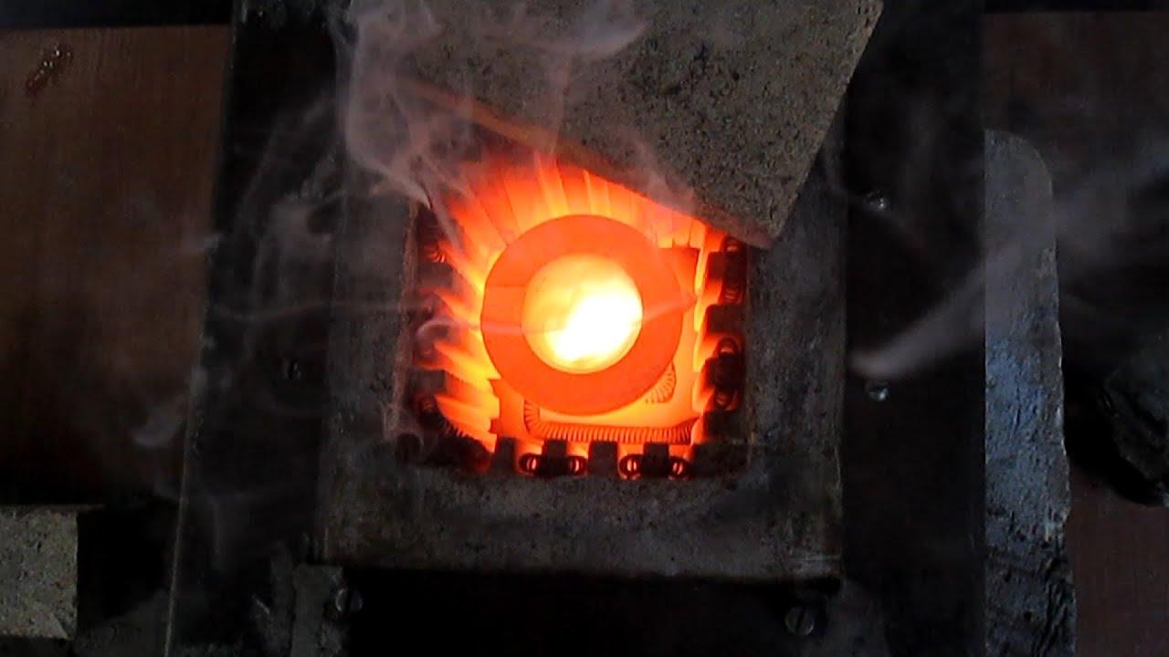 Как сделать муфельную печь своими руками для плавки золота 47