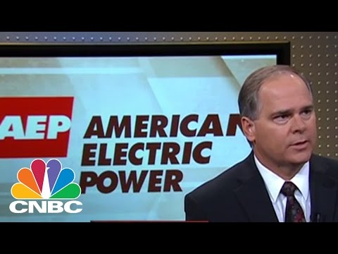 American Electric Power CEO Nick Akins | Mad Money | CNBC