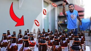 DONT Hit The WRONG Mystery Drink ($$$ MYSTERY RING TOSS CHALLENGE)