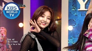 TWICE(트와이스) - YES or YES [Music Bank COMEBACK / 2018.11.09]