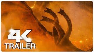 GODZILLA KING OF THE MONSTERS : 6 Minute Trailers (4K ULTRA HD) NEW 2019 | Godzilla 2