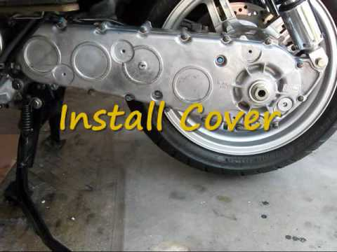 Burgman 650 - DIY - Final Gear Drive Oil Change