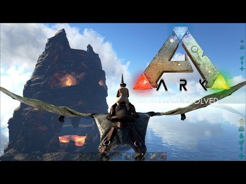 ARK Survival Evolved - New Wings & Ancient Ruins! - E03 (POOPING EVOLVED CENTER MAP)