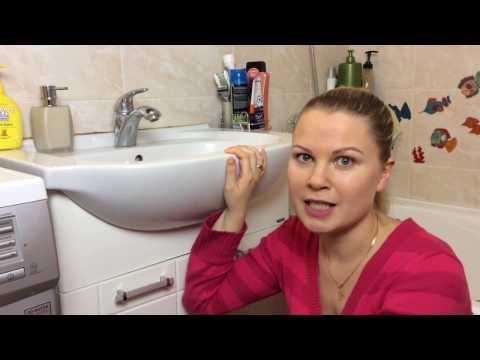 Уборка дома Домашний Влог Уборка в ванной