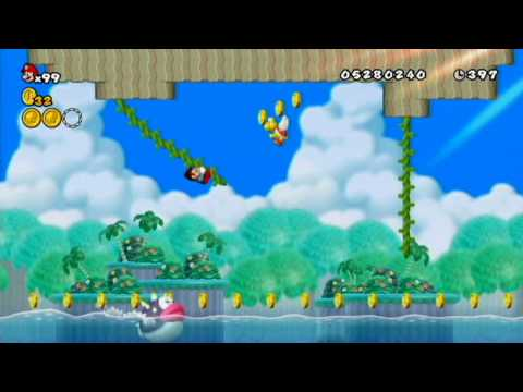 New Super Mario Bros. Wii - 100% #32: Varitable Antics