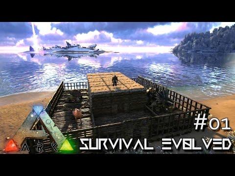 ARK: Survival Evolved - KINGS COMPOUND - EPIC START for SEASON 3 [S3 E01] (Gameplay)