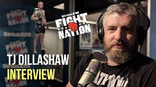 T.J. Dillashaw Says 'The Weight Cut Is Over,' Talks 'Slow' Max Holloway | SiriusXM | Luke Thomas