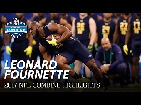 Leonard Fournette Lsu Rb 2017 Nfl Combine Highlights