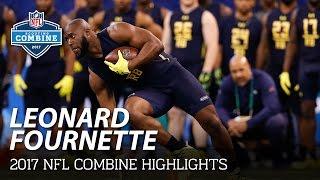 Leonard Fournette (LSU, RB) | 2017 NFL Combine Highlights
