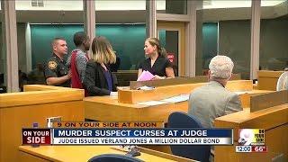 Murder Suspect Curses At Judge