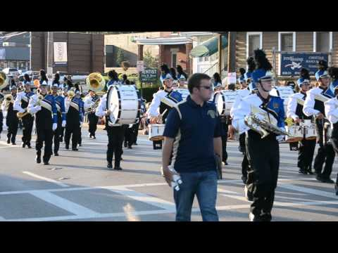 Walnut Hills High School Marching Band - Harvest Home Parade September 5th, 2013