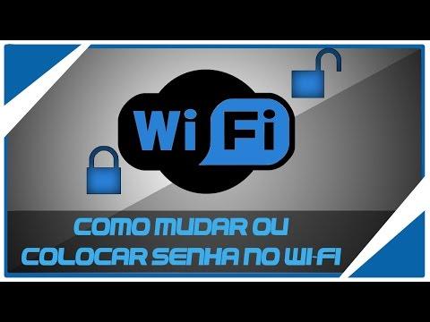 Como Mudar Ou colocar senha no Wi-Fi