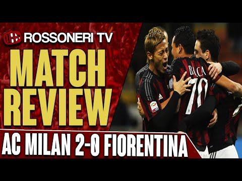 AC Milan 2-0 Fiorentina | Goals: Bacca, Boateng | Match Review