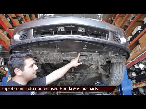 FRONT BUMPER Replacement DIY How to replace install fix change 2002 2003 2004 2005 2006 Acura RSX