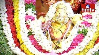 Arrangements for Bonalu in Balkampet Yellamma Pochamma Temple | hmtv
