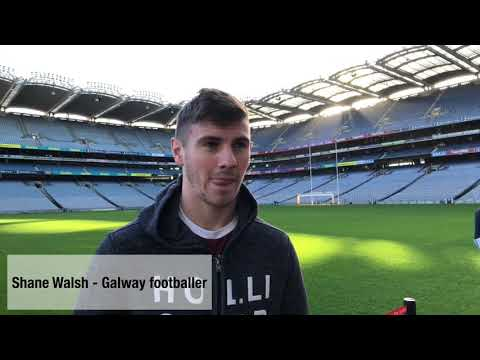 Galway footballer Shane Walsh talks to GAA.ie