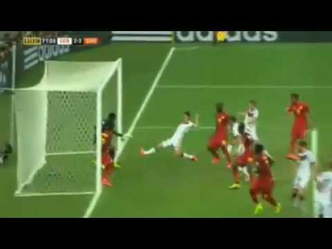 Alemania vs Ghana world cup 2014 2-2 goal miroslav klose