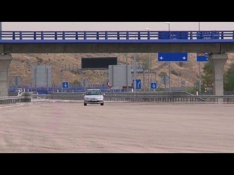 En Espagne, les autoroutes désertées avec la crise