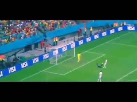 Spain vs Netherlands 1 5 ~ All Goals And Highlights World Cup Brazil 2014