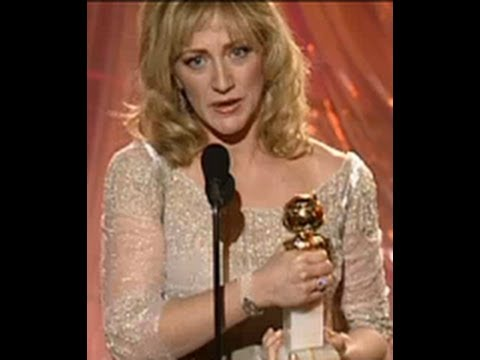 Edie Falco Wins Best Actress TV Series Drama - Golden Globes 2000