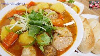 LAGU GÀ / RAGU GÀ - Cách nấu Lagu Đùi Gà thơm ngon Đãi Khách by Vanh Khuyen