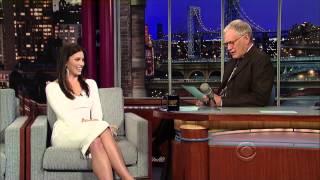 Jessica Biel - Late Show With David Letterman December 7, 2011