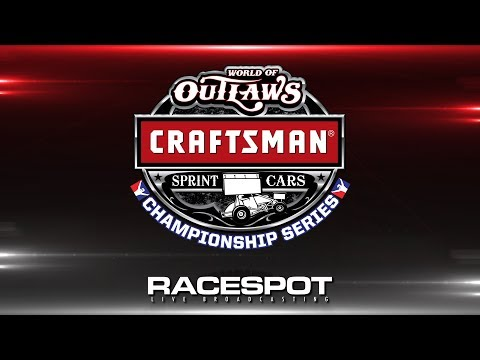 World of Outlaws Craftsman Sprint Cars Championship Series | Round 7 | Knoxville