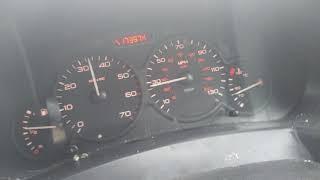 06 Berlingo 1.9D 70BHP 0-60 mph 2nd gear launch