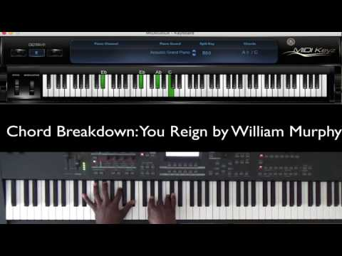 You Reign by William Murphy (Chord Breakdown)