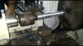 Working of Lathe Machine all functions included pr
