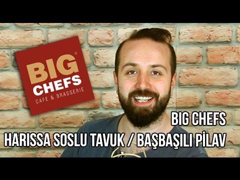 Big Chefs - Yemek Paket Servis İnceleme ve Yorumlar Harissa Soslu Tavuk - Başbaşılı Firik Pilavı