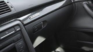 AUDI A4 glove box removal and hinge repair DIY