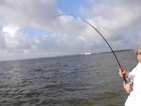 Sabine Lake Fishing Part 1