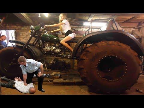 Мотоцикл Урал - мотовездеход. трицикл. амфибия