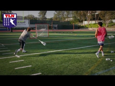Lacrosse Network Shooting Video with Colin and Samir