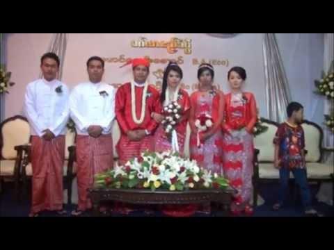 Myanmar Wedding Ceremony (naymyoaung&suyadanar)yuzana video