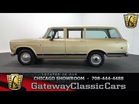 1971 International Harvester Travelall Gateway Classic Cars Chicago #1005