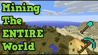 Minecraft - Mining The ENTIRE PC World (How Long?)