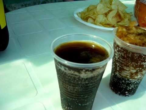Curioso fenómeno de congelación de Coca-Cola