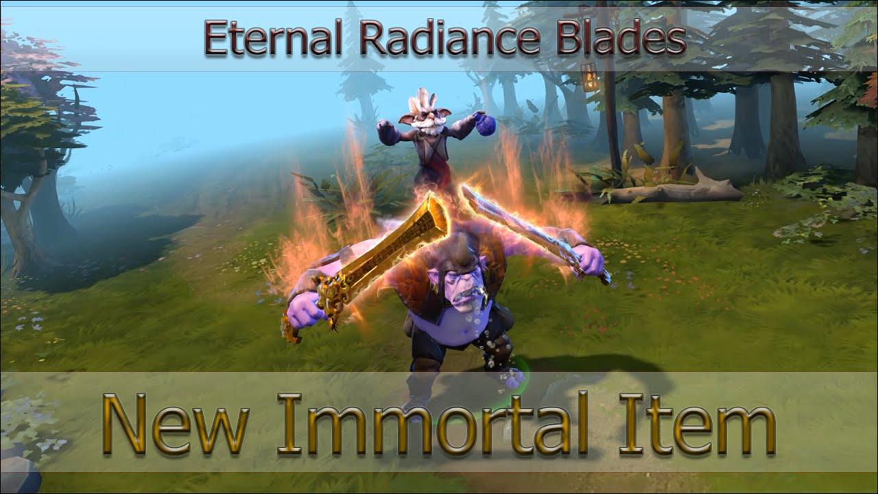 Eternal Blade Dota Eternal Radiance Blades